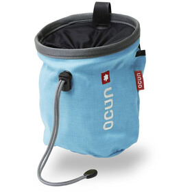 Ocun Push + Belt Chalk Bag Blue/Grey